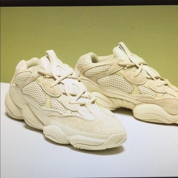 """140321887 Adidas Yeezy 500 """"Super Moon Yellow"""""""